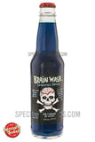 Brain Wash Blue Carbonated Drink 12oz Glass Bottle