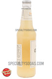 Bruce Cost Ginger Ale Unfiltered Passion Fruit with Yellow Ginger (Tumeric) 12oz Glass Bottle