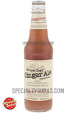 Bruce Cost Ginger Ale Unfiltered Pomegranate with Hibiscus 12oz Glass Bottle