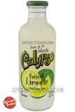 Calypso Natural Limeade 20oz Glass Bottle