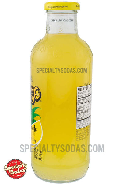 Calypso Pineapple Passion Lemonade 20oz Glass Bottle