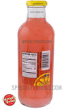 Calypso Raspberry Pink Lemonade 20oz Glass Bottle