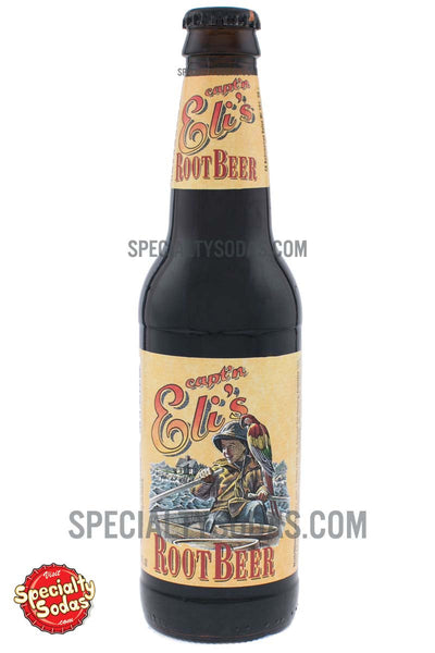 Capt N Eli S Root Beer 12oz Glass Bottle Specialty Sodas