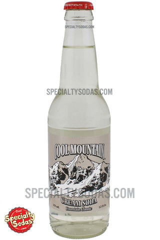 Cool Mountain Cream Soda Soda 12oz Glass Bottle