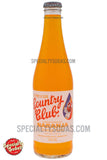 Country Club Orange Soda 12oz Glass Bottle