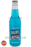 Dad's Blue Cream Soda 12oz Glass Bottle