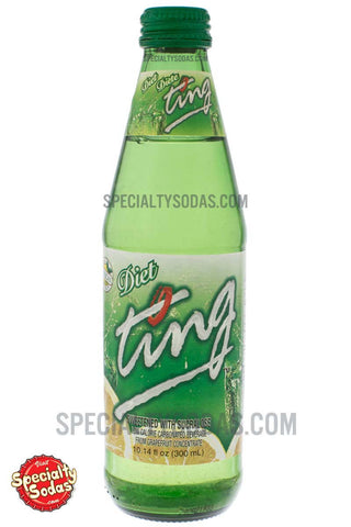 Diet Ting Carbonated Beverage 300ml Glass Bottle