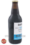 Empire Bottling Works Diet Root Beer 12oz Glass Bottle