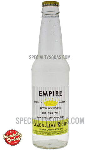 Empire Bottling Works Lemon-Lime Rickey Soda 12oz Glass Bottle
