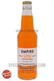 Empire Bottling Works Orange Soda 12oz Glass Bottle