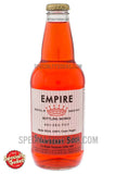 Empire Bottling Works Strawberry Soda 12oz Glass Bottle