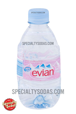 Evian Spring Water 330ml Plastic Bottle