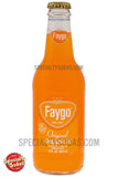 Faygo Orange Soda 12oz Glass Bottle