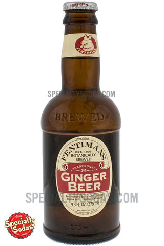 Fentimans Botanically Brewed Ginger Beer 275ml Glass Bottle