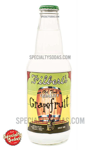 Filbert's Old Time Quality Grapefruit Soda 12oz Glass Bottle