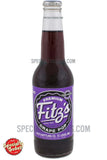 Fitz's Premium Grape Soda 12oz Glass Bottle