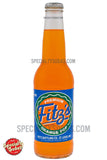 Fitz's Premium Orange Pop Soda 12oz Glass Bottle