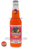 Flathead Lake Strawberry Orange Soda 12oz Glass Bottle