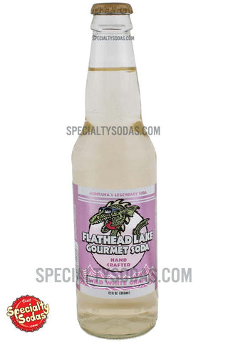 Flathead Lake Wild White Grape Soda 12oz Glass Bottle