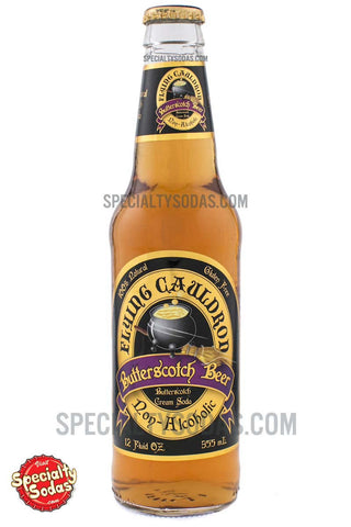 Flying Cauldron Butterscotch Beer 12oz Glass Bottle