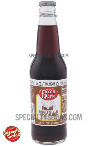Foxon Park Draft Style Root Beer 12oz Glass Bottle
