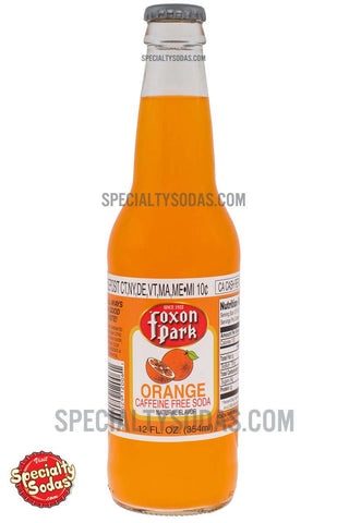 Foxon Park Orange Soda 12oz Glass Bottle