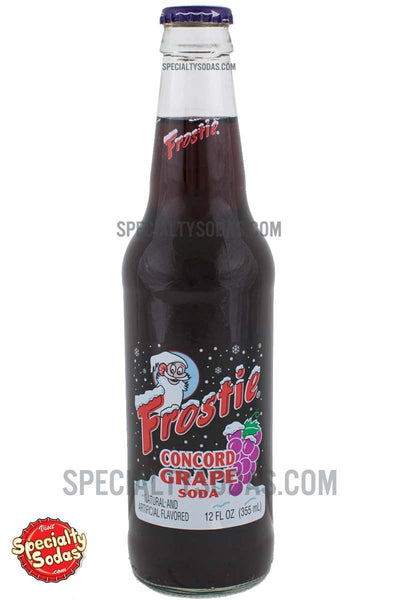 Frostie Grape Soda 12oz Glass Bottle Specialty Sodas
