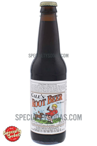 Gale's Root Beer 12oz Glass Bottle