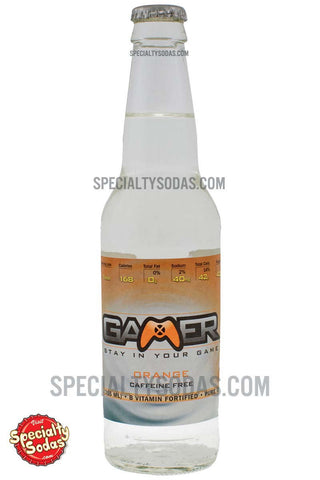Gamer Soda Orange 12oz Glass Bottle
