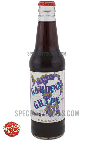 Gardena Grape 12oz Glass Bottle