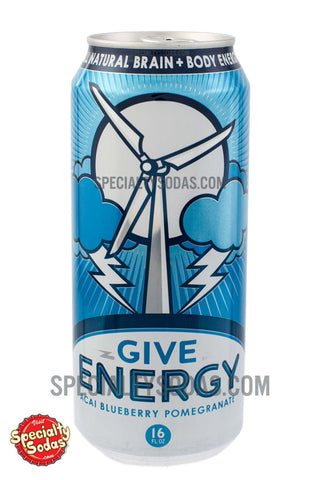 Give Energy Acai Blueberry Pomegranate 16oz Aluminum Can