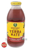 Guayaki Yerba Mate Pure Heart Raspberry Terere 16oz Glass Bottle