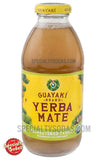 Guayaki Yerba Mate Unsweetened Terere 16oz Glass Bottle