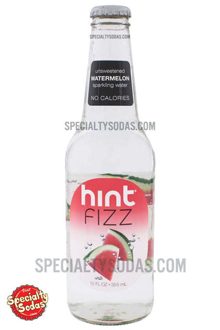 Hint Fizz Watermelon Sparkling Water 12oz Glass Bottle