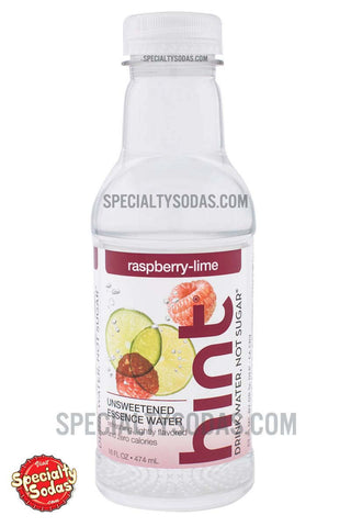 Hint Raspberry Lime Water 16oz Plastic Bottle