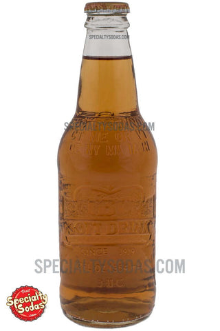 IBC Cream Soda 12oz Glass Bottle