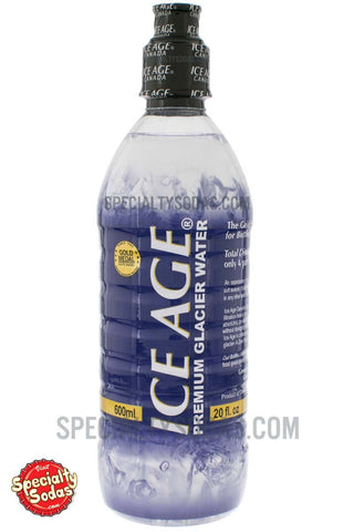 Ice Age Premium Glacier Water 20oz Plastic Bottle