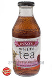 Inko's White Tea Cherry Vanilla 16oz Glass Bottle