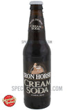 Iron Horse Vanilla Cream Soda 12oz Glass Bottle