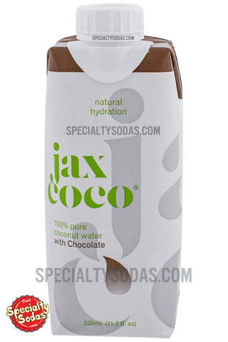 Jax Coco Chocolate Coconut Water 330ml Paperboard Carton