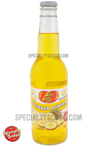 Jelly Belly Pineapple Soda 12oz Glass Bottle