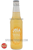 Joia Orange Jasmine Nutmeg Soda 12oz Glass Bottle