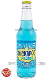 Kickapoo Malibu Pina Colada Soda 12oz Glass Bottle