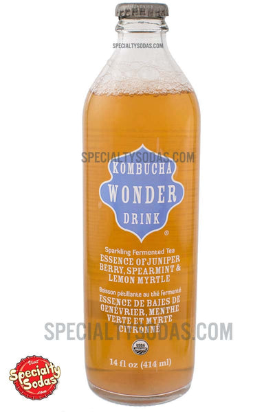 Kombucha Wonder Drink Essence Of Juniper Berry Spearmint