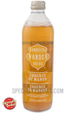 Kombucha Wonder Drink Essence of Mango Sparkling Fermented Tea 14oz Glass Bottle