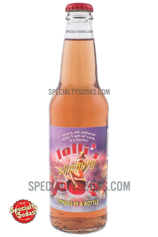 Lolli's Slimming Pop Fitness in a Bottle 12oz Glass Bottle