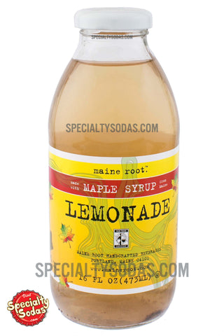 Maine Root Maple Syrup Lemonade 16oz Glass Bottle