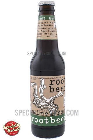 Maine Root Root Beer 12oz Glass Bottle