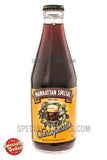 Manhattan Special Sarsaparilla 10oz Glass Bottle