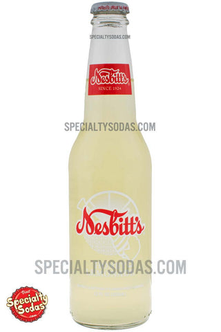 Nesbitt's Honey Lemonade Flavored Drink 12oz Glass Bottle
